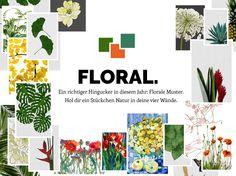 Florale Designs der Lifestyle Trend 2016 #artboxONE
