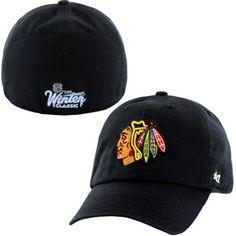 Chicago Blackhawks '47 Brand 2015 NHL Winter Classic Franchise Fitted Hat - Black