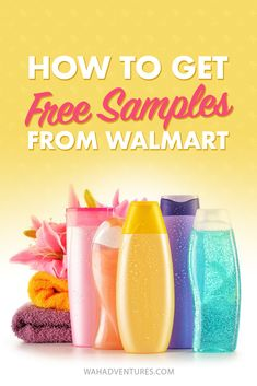 Once you learn how to get free samples and products from Walmart, you'll love it even more! Here's 9 steps to Walmart freebies! Free Coupons By Mail, Free Samples By Mail, Stuff For Free, Free Stuff By Mail, Free Gift Cards, Free Gifts, Freebies By Mail, Couponing For Beginners, Birthday Freebies