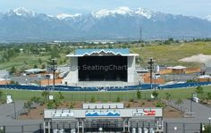 USANA Amphitheatre, Salt Lake City, UT - Seating Chart View - We have tickets to all shows!