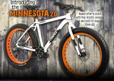 $799 Aluminum Fat Bike - ride the snow #fatbike #bicycle