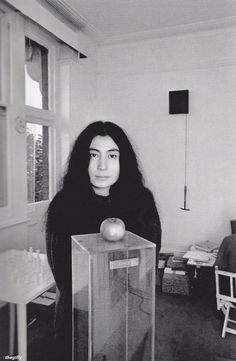 Today, 11-9 in 1966, John Lennon visited the exhibition 'Unfinished Paintings And Objects By Yoko Ono', at the Indica Gallery before it opened and met Yoko for the first time. She said she never had heard of The Beatles.