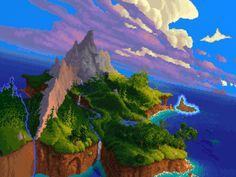 První dva díly série Legend of Kyrandia jsou spolu s prvním dílem Lands of Lore pravděpodobně nejpohlednějšími VGA hrami vůbec. Jen se podívejte na ty pixely, jak se blyští a chlubí citlivě zvolenými barvami! Připravil jsem pro vás chutný obrazový materiál, vhodný pro pilné studium nad sklenkou bran