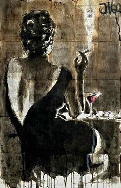 Icanvas icanvasart cocktail by loui jover newspaper art, newspaper painting, figurative art, cocktails Painting Prints, Art Paintings, Art Prints, Canvas Artwork, Canvas Prints, Newspaper Art, Newspaper Painting, Arte Pop, Amazing Art