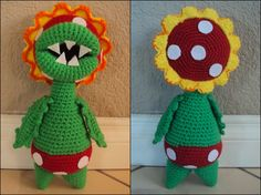 damn it Janet, let's crochet!: Petey Piranha - free pattern - this site has lots of other free nintendo inspired plushies as well!
