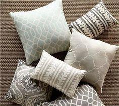 Sunbrella® Trellis Reversible Jacquard Indoor/Ooutdoor Pillow | Pottery Barn