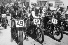 Catalina Island. Motorcycle hall of fame, via Selvedge Yard