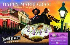 11 free tunes from Randazzo's Camellia City Bakery Mardi Gras Offer