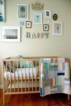 """Happy"" baby nursery."