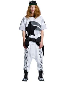 Daniel Palillo SS14 #ss14 #fashion #acolyth #acolythstore #danielpalillo #dress #patchwork #star