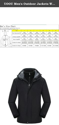 UOOU Men's Outdoor Jackets Waterproof Windproof Fleece Thickened Ski Jacket Black. Outstanding Design The windproof cap, 3D full view, prevent the rain on the face. Three dimensional drawing rope, free to adjust the width of the hat. Under the armpit ventilation holes, movement to help breathe. Cuff magic stick, can adjust the size of the cuffs, to prevent the cold wind. Cuff magic stick, can adjust the size of the cuffs, to prevent the cold wind. Adjustable drawstring hem, firm and…