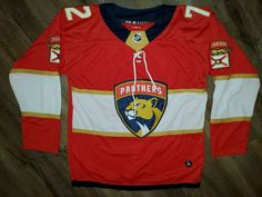 Sergei Bobrovsky 72 2019-2020 NHL Florida Panthers Hockey Jersey Large 52 ADIDAS #adidas #FloridaPanthers