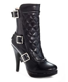 Look what I found on #zulily! Henry Ferrera Black City Walk Bootie by Henry Ferrera #zulilyfinds