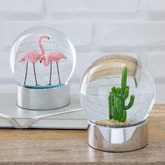 Summer Snow Globes