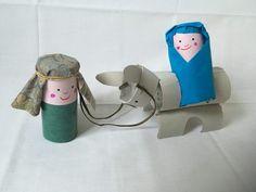 DIY Kerststal van wc-rolletjes – Gerdien van Delft