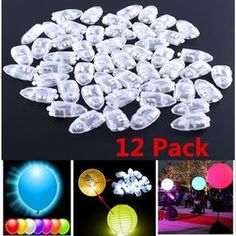 Multi-Colored Flash Led Ball Lamp Balloon Light for Wedding Bridal Show Birthday Halloween Party Decoration Supplies Led Balloons, Balloon Lights, Halloween Party Decor, Xmas Party, Neon Party, Light Decorations, Christmas Decorations, Glow Party Supplies, Transparent Balloons