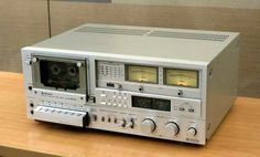 Hitachi Cassette Deck from Cassette Recorder, Tape Recorder, Hi Fi System, Audio System, Radios, Receptor, Hifi Audio, Audio Equipment, Deck