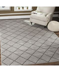 Safavieh Tunisia Gray and Black x Area Rug - Grey/black Room Rugs, Area Rugs, Dining Table Price, Space Furniture, Dresses With Leggings, Baby Girl Newborn, Rugs Online, Gray, Living Room