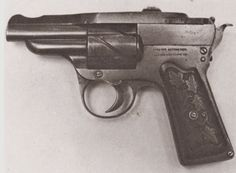 SEMI-AUTO SINGLE ACTION REVOLVER-PISTOL: Between 1905/1920 you could score yourself a new  Zulaica Automatic-Revolver, made by the Spanish gun maker M. Zulaica y Cia (M. Zulaica & Co.) It used the recoil to rotate and cock the hammer, so I guess this is a semi-auto single action revolver-pistol? :: TINCANBANDIT's Gunsmithing: Strange Revolvers