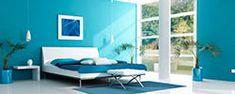 20 Modern Interior Design Ideas Showing Latest Trends in Room Colors Blue Rooms, Blue Bedroom, Modern Bedroom, Contemporary Bedroom, Küchen Design, Home Design, Design Ideas, Bedroom Decorating Tips, Bedroom Ideas