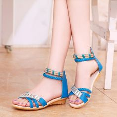 flat sandals can simply supercharge your looks in sweating summers.