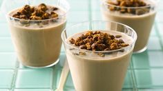 Chocolate milk bumps up the flavor in a nutritious kid-friendly smoothe.  My daughter LOVES this!!