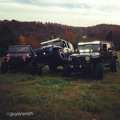 """by @guyersmith """"I guess you could say our family is a bunch of jeep lovers #jeep #jeepbeef #jeepend"""" #Padgram"""