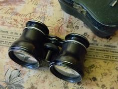 Elegantly Simple and Affordable Antique Opera by CuriosityShopper