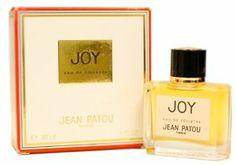 Joy di Jean Patou, anno di lancio 1929. Una fragranza fiorita cipriata, creata dal naso Henri Alméras.