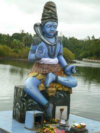One of the many gods at Ganga Talao