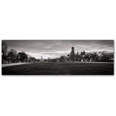Trademark Fine Art National Mall Capitol Sunrise Canvas Art by Gregory O'Hanlon, Size: 16 x 47, Assorted