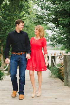 Love The Red Dress And His Outfit Too Click To View More From This