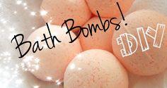 DIY Beauty ♥ How to Make Bath Bombs!