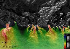 Space in Images - 2015 - 03 - Greenland ice streams