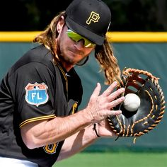 2016 pittsburgh pirates john jaso | 20160225pdPiratesSports01 The Pirates' John Jaso fields a ground ball ...