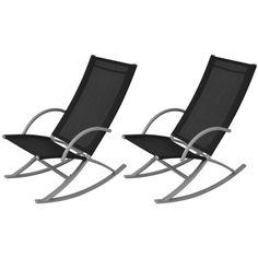 Schaukelstuhl Für Den Garten In Schlichtem Und Modernen Design. Das  Schönste Ist, Dass Dieser