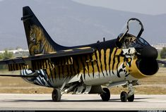 A-7 Tiger Corsair--What a Ride, and Eye Catcher all in One!