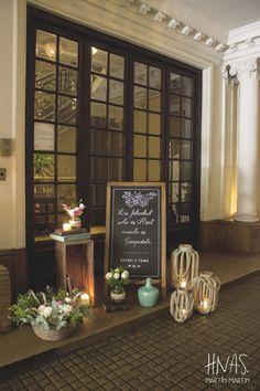 Casamiento, Milion, Buenos Aires, ambientación, boda, flores, instalación de acceso, bienvenida, pizarra Wedding, decor, flowers, welcome, blackboard, lettering, vintage