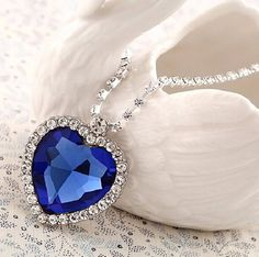 Love Marine Biology? Get this stunning Titanic Heart Of The Ocean Necklace for your peace of mind. Length:50 cm Free Shipping! Get 30% OFF this Titanic Heart Of The Ocean Necklace today. Just click th