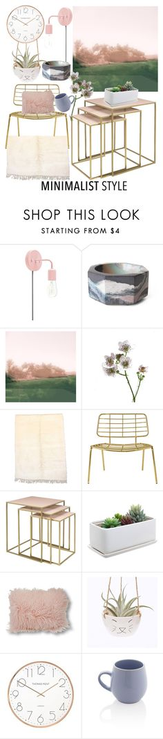 """""""Minimalist"""" by earthangell on Polyvore featuring interior, interiors, interior design, home, home decor, interior decorating, Broste Copenhagen, Le Coterie, Sabichi and Minimaliststyle"""