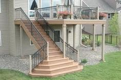 exterior deck stairs - Google Search