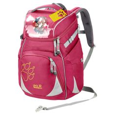 Jack Wolfskin Unisex-Kinder Classmate Sac a dos Rucksack, Rot (azalea red), One Size Jack Wolfskin, Unisex, Sport, Golf Bags, Diaper Bag, Backpacks, Bag, Cinch Bag, Bags