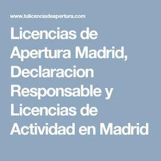 Beautiful Amazing Latest Licencias De Apertura Madrid Declaracion  Responsable Y Licencias De Actividad En Madrid With Licencia Apertura Local  Madrid With ...