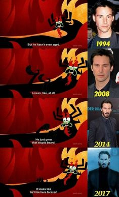If there were a movie Keanu Reeves would actually make a good Samurai Jack Memes Humor, Games Memes, Stupid Funny Memes, Funny Relatable Memes, Funny Texts, Funny Fails, Samurai Jack, Bd Art, Fresh Memes
