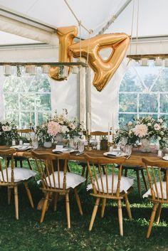 Ballonset JA in Silber oder Gold - Hochzeitsblog Fräulein K. Sagt Ja