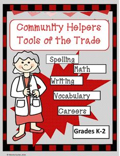 This fun learning packet provides 42 pages of activities based on math and English language arts concepts. Students will learn about 14 different careers through the tools used by community helpers and math and English language arts applications such as writing, drawing, sequencing, counting, spelling, vocabulary, matching and alphabetizing.