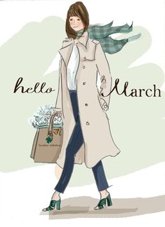 Hello March Rose Hill Designs by Heather Stillufsen Hello Weekend, Bon Weekend, Hello Monday, Weekend Vibes, Seasons Months, Months In A Year, 12 Months, March Month, New Month