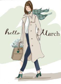 Hello March by Heather Stillufsen