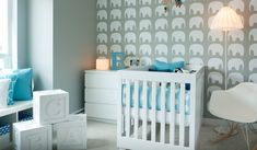 Nursery Design Teal Baby Nursery Design With Unique Standing Lamp And Modern White Chairs Plus White Nightstand Also Decorative Wall