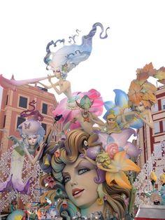 Fallas Valencia 2012 / Taalreis Spanje - Valencia